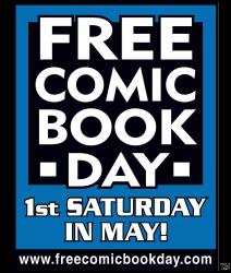 Free Comic Book Day Saturday, May 3