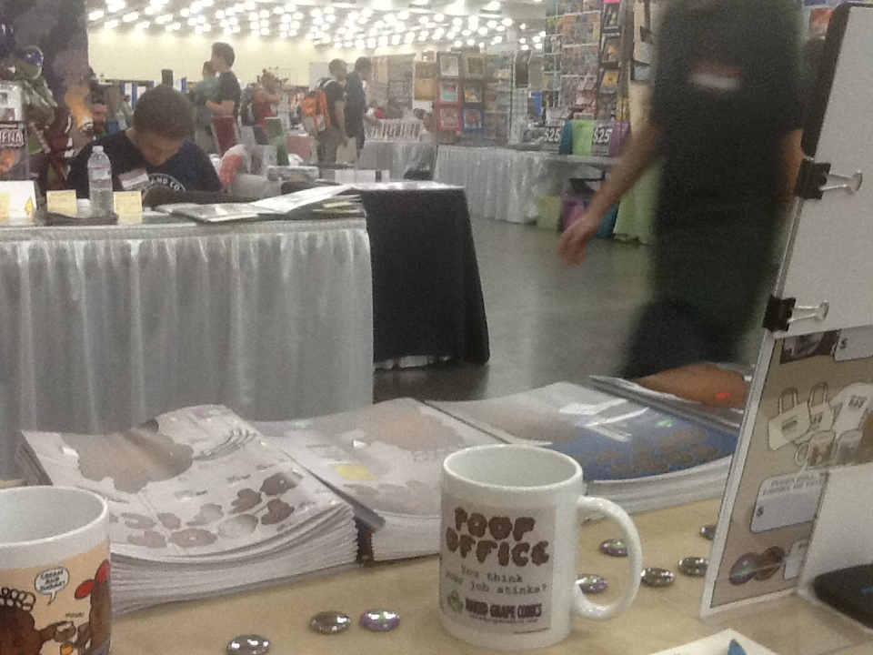 Baltimore Comic-Con table