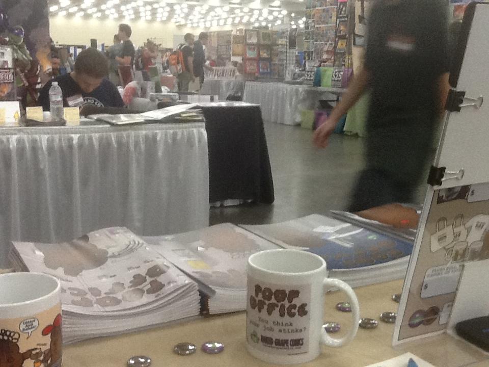 Baltimore Comic-Con table