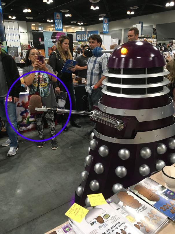 Dalek steals a poop