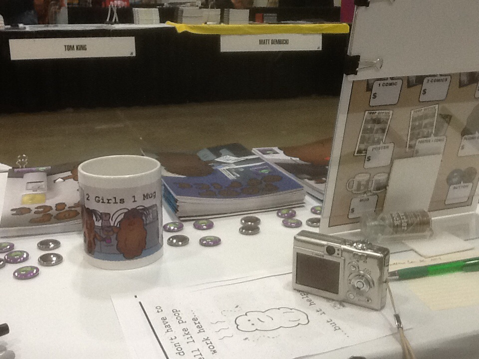 Awesome Con DC 2014 Table
