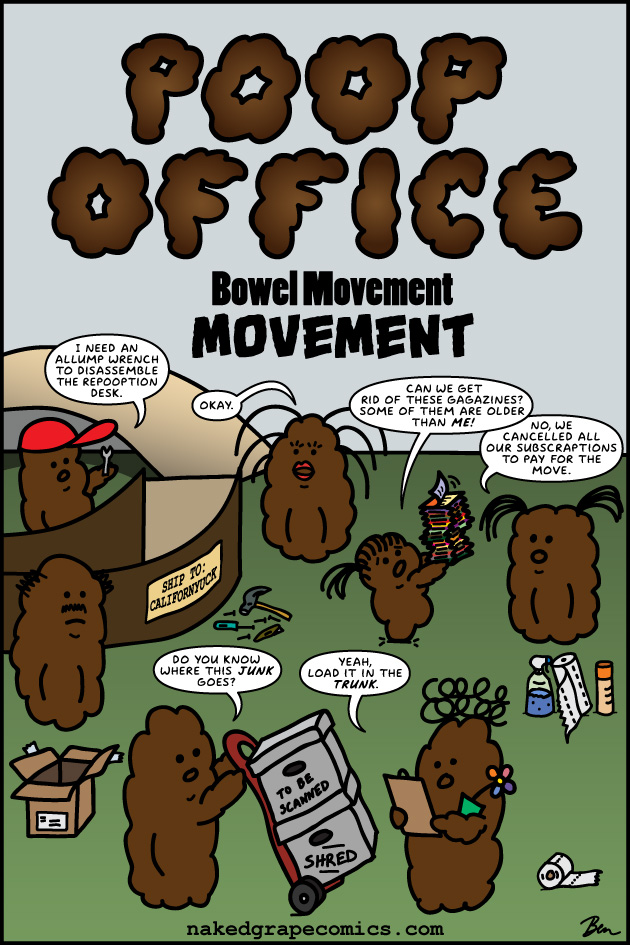 Poop Office Bowel Movement Movement
