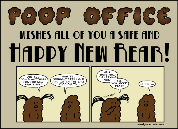 Poop Office wishes all of you a safe and happy new rear!