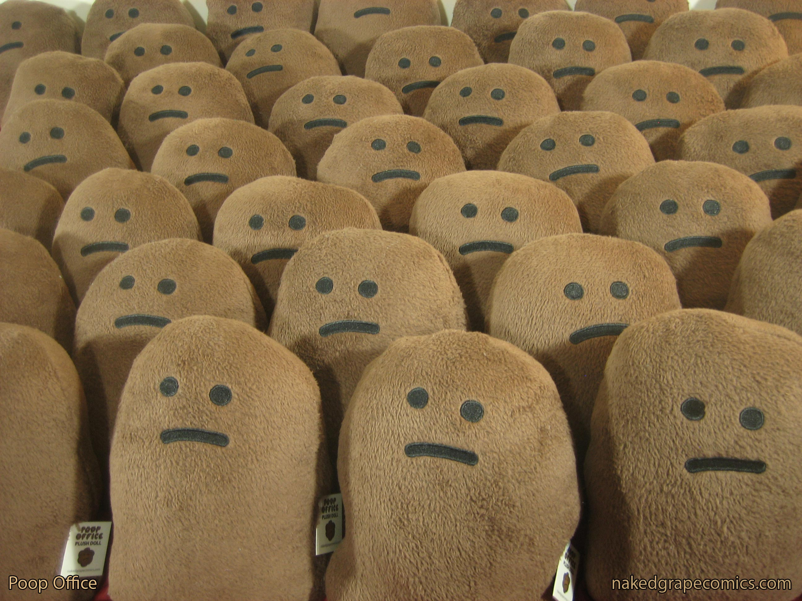 Poops in a crowd