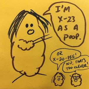 Poop X-23