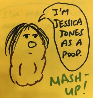 Poop Jessica Jones